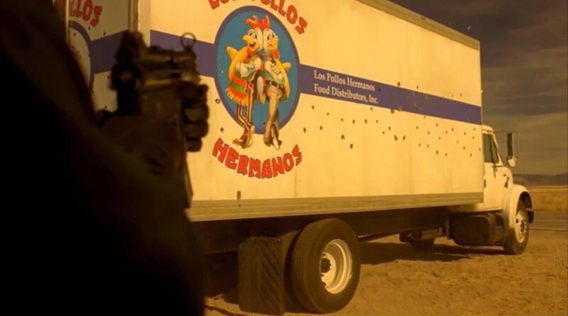 Caminhão da Los Pollos Hermanos atacado por sicarios rivais.
