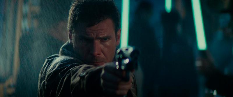 Deckard executou a replicante clandestina.