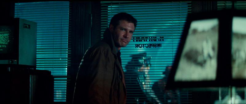 O policial Rick Deckard.