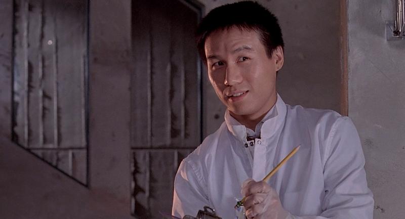 O cientista Dr. Henry Wu.
