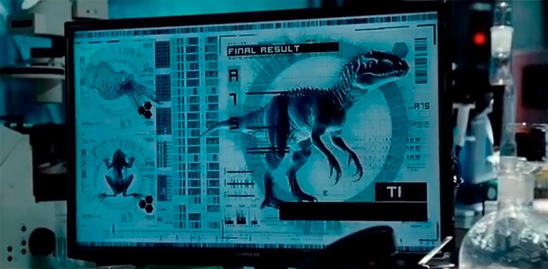 Ficha técnica do Indominus Rex.