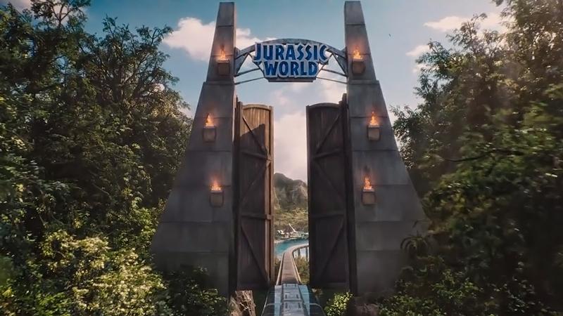 Portão do Jurassic World.