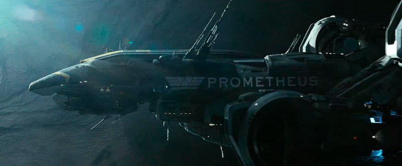 A nave USCSS Prometheus.