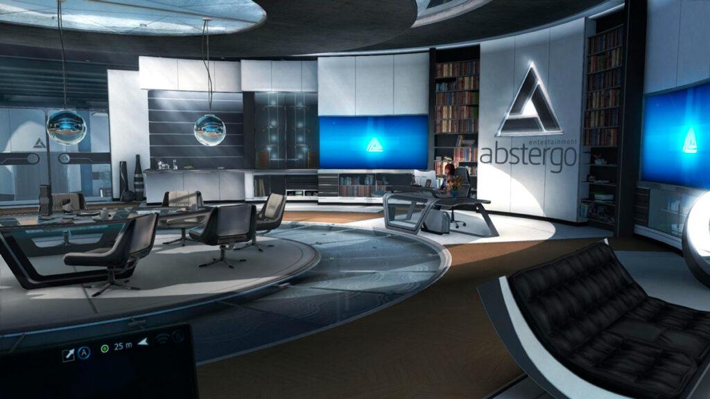 Escritório do CCO da Abstergo Entertainment.