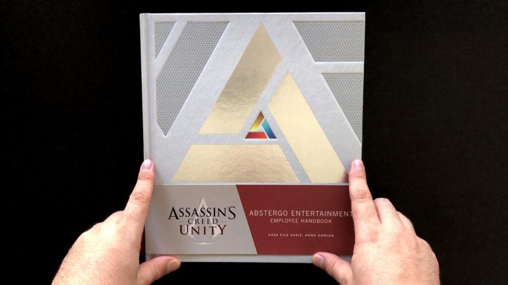 Artbook do jogo Assassin's Creed IV: Black Flag.