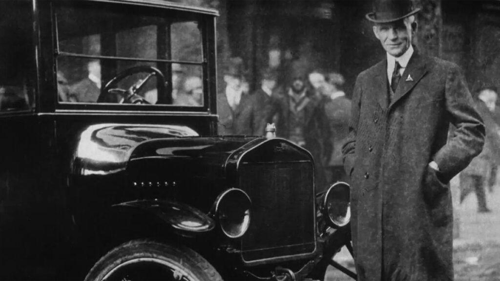Henry Ford, um dos fundadores da Abstergo Industries.