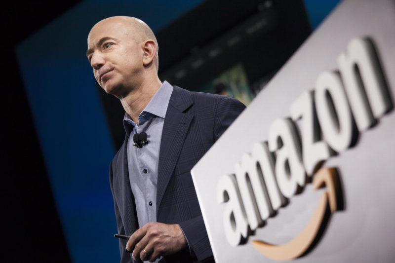 Jeff Bezos, CEO da Amazon.