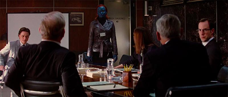 Mutantes reunidos com a Secretária de Defesa.