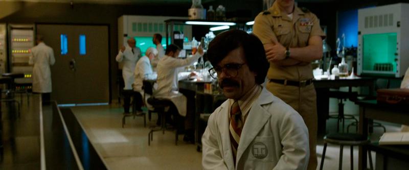 Laboratório supervisionado por militares.
