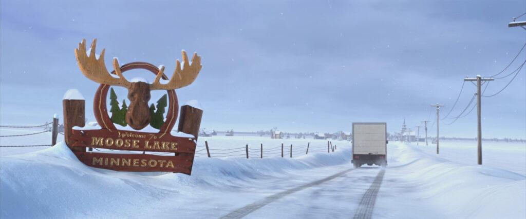 Bem-vindos ao Moose Lake, Minnesota.