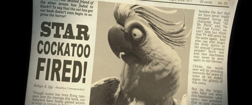 Reportagem da demissão do Nigel como estrela do entretenimento.
