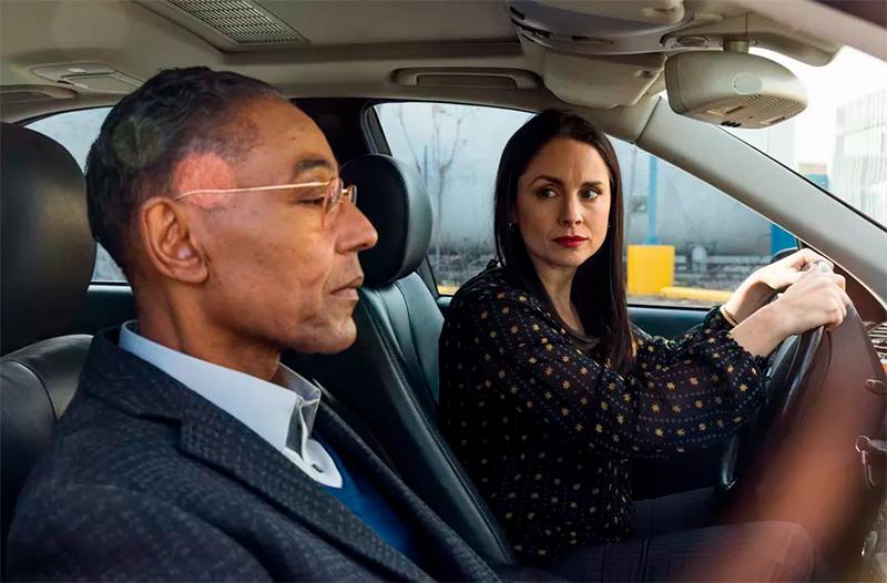 A parceria de negócios entre a Lydia e o Gus.