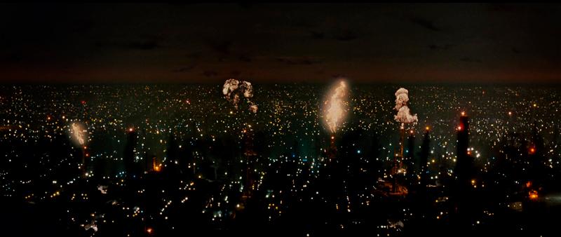 Vista panorâmica de Los Angeles.