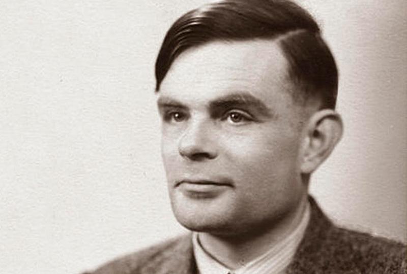 Alan Turing, pai da computação.